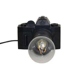 lamp camera black