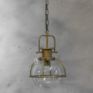 mf1720 Hanglamp met glas 30x46 cm