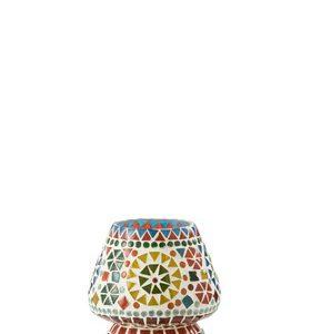 Tafellamp Eki Mozaiek Glas Mix Small