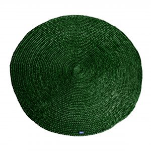 Carpet Jute round 220x220cm - Groen