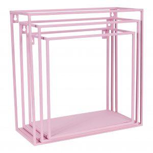 Wire wallbox rozeset van 3 stuks