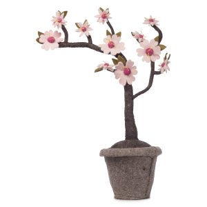 Blossom plant, vilten decoratie plant