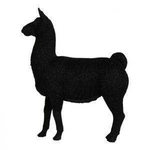 200364 Black Alpaca 20x22 cm