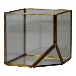 Box of glass - Gold