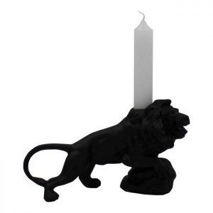 """Candle holder """"Lion"""" - Black"""