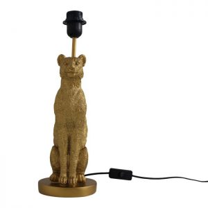 """Table lamp """"Leopard"""" - Gold"""