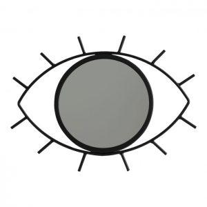 """Mirror """"Eye see you"""" Hanging - Black"""