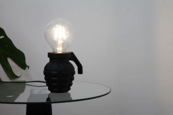 Lamp Grenade - Black