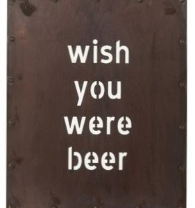 Plakkaat Beer Metaal nr. 1