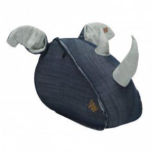 Wallhead Rhino - Denim
