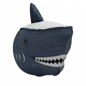 Wallhead Shark - Denim
