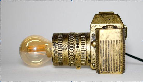 Lamp 'Camera' - Gold