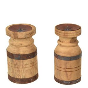 Kaarsen standaard hout
