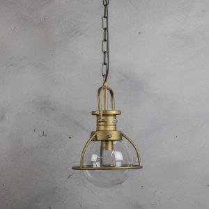 mf1719 Hanglamp met glas 25x39 cm