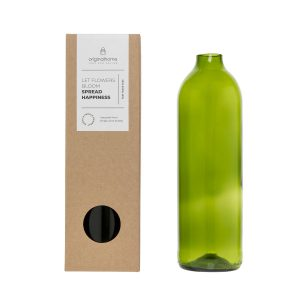 Bottle Vase - Green