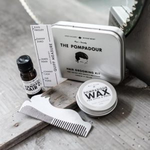 The Pompadour Hair Grooming Kit