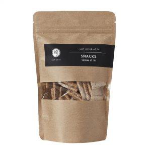 Whole grain snacks seasalt