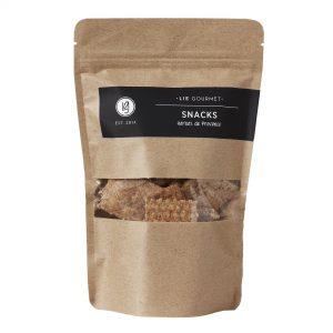 Whole grain snacks herbs
