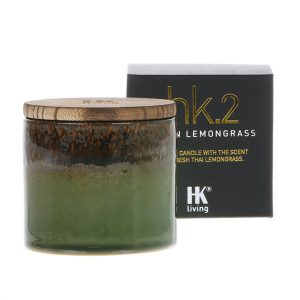 HK.2 Geurkaars in keramiek - Asian Lemongrass