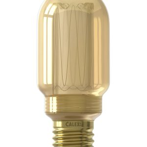 Calex Tubular Lamp Gold