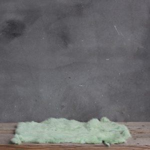 Konijnenvacht - Lime Groen