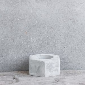Waxine Lichtje - Beton
