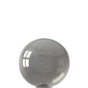 Flex Filament Titanium Globe LED Lamp
