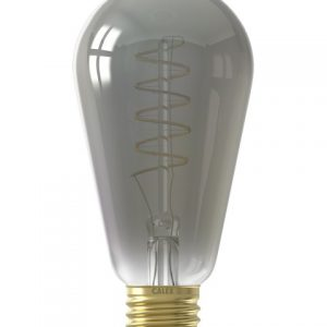 Calex Flexible Filament Led Rustic Lamp Titanium