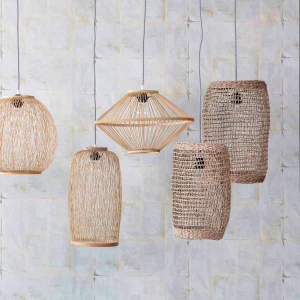 Hanglamp Sion 22x43cm - Seagrass