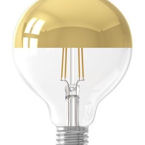 Calex Led Filament Globe Lamp Goud