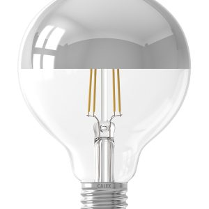 Calex Led Filament Globe Lamp Chrome